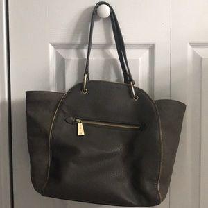 Olivia + Joy Gray Handbag